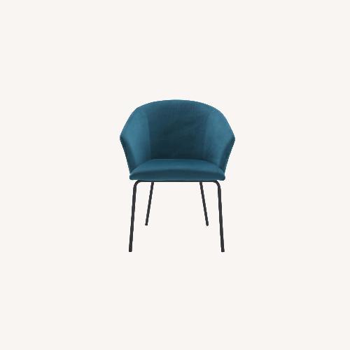 Used Modani Alta Dining Chair in Ocean Blue for sale on AptDeco