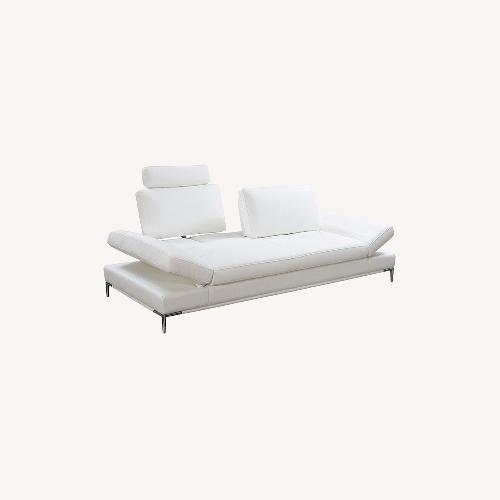 Used Modani Sullivan Sofa in White for sale on AptDeco