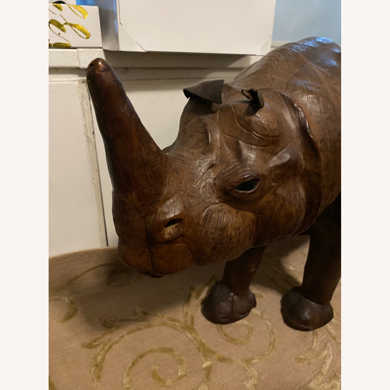 Vintage Leather Rhino - image-6