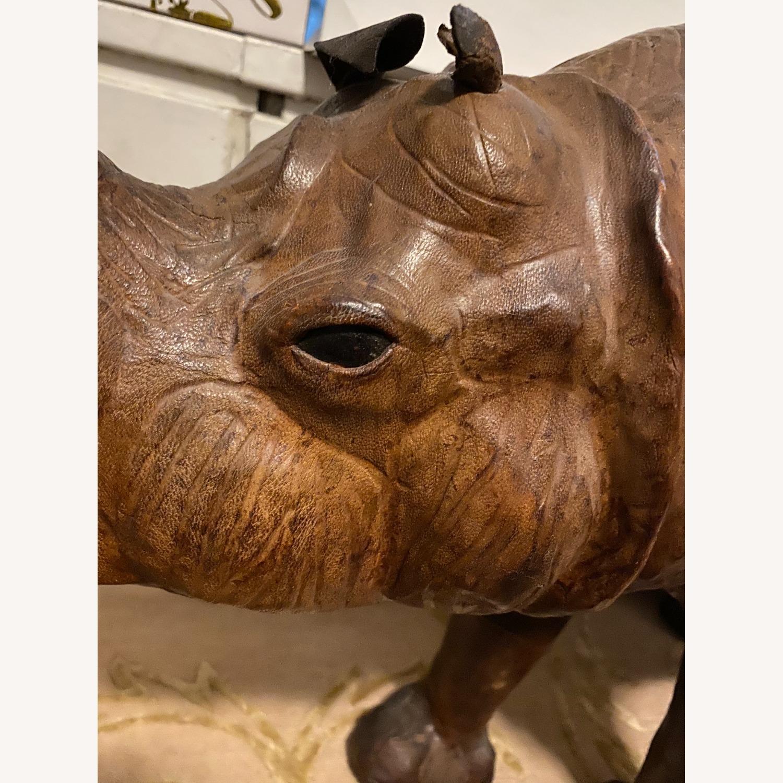 Vintage Leather Rhino - image-7