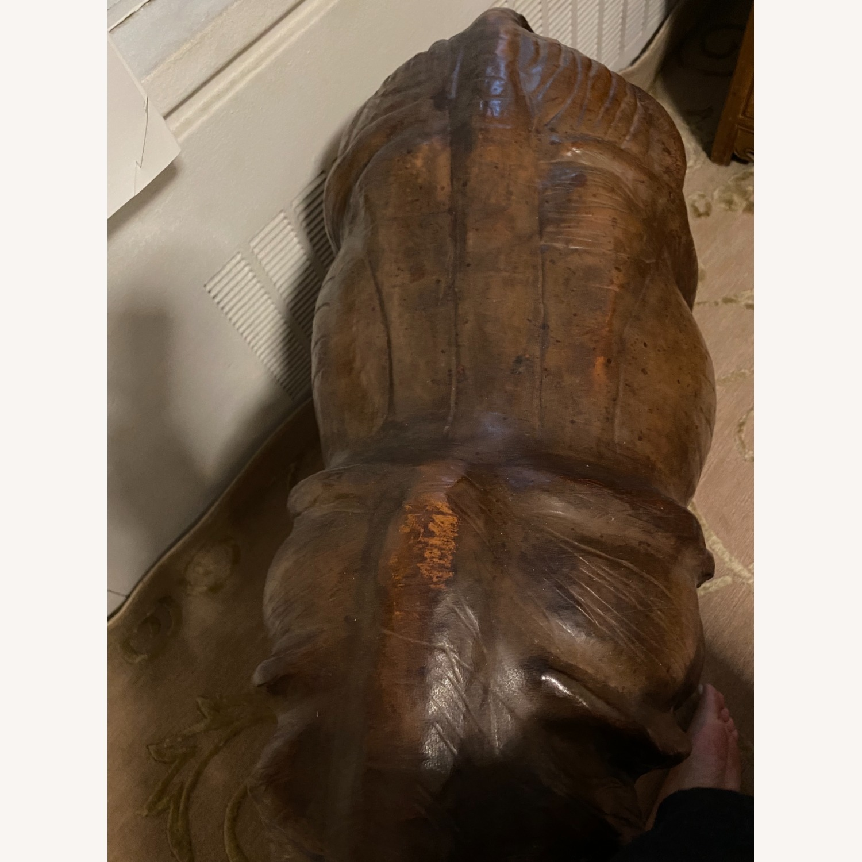 Vintage Leather Rhino - image-2