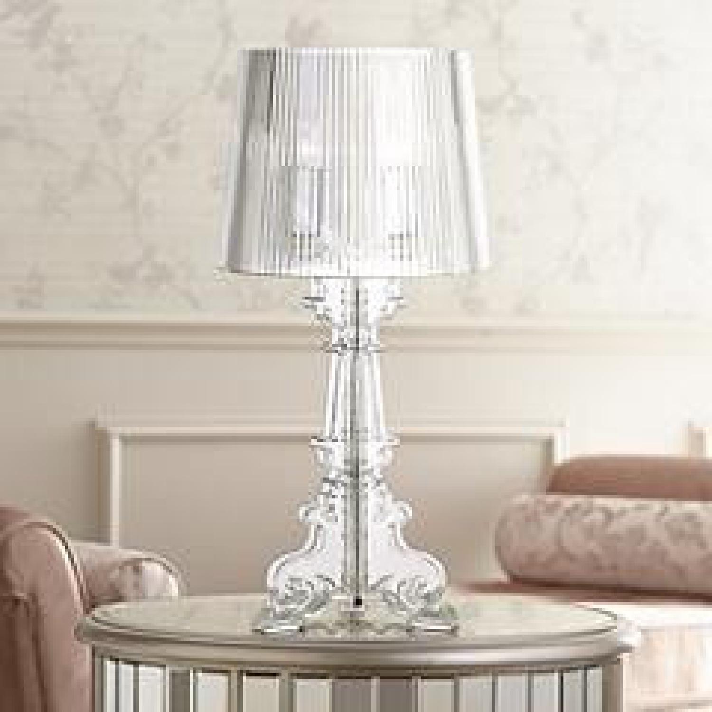 Lamps Plus Acrylic Table Lamp Set - image-4