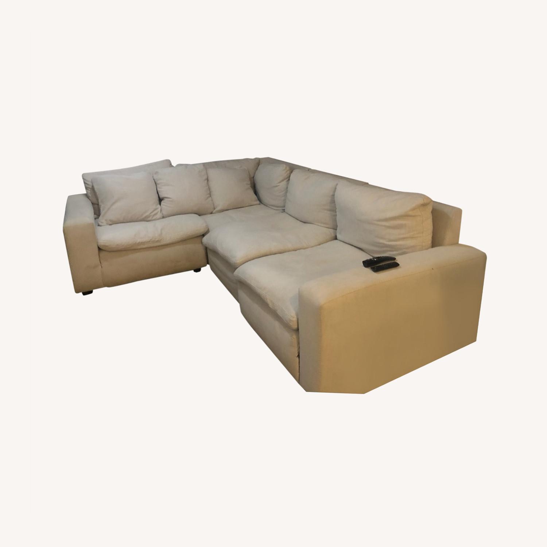 Ashley Furniture Beige Comfort - image-0