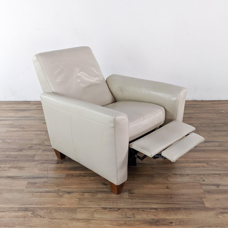 Natuzzi Fiorani Leather Recliner - image-2