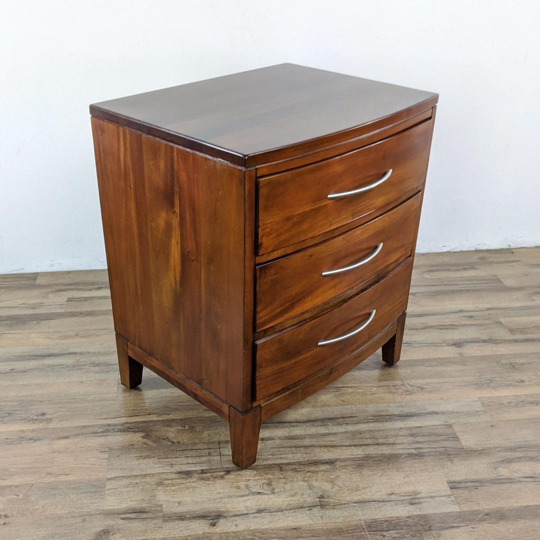 Pair of Napa Furniture Designs Wooden Nightstands - image-3