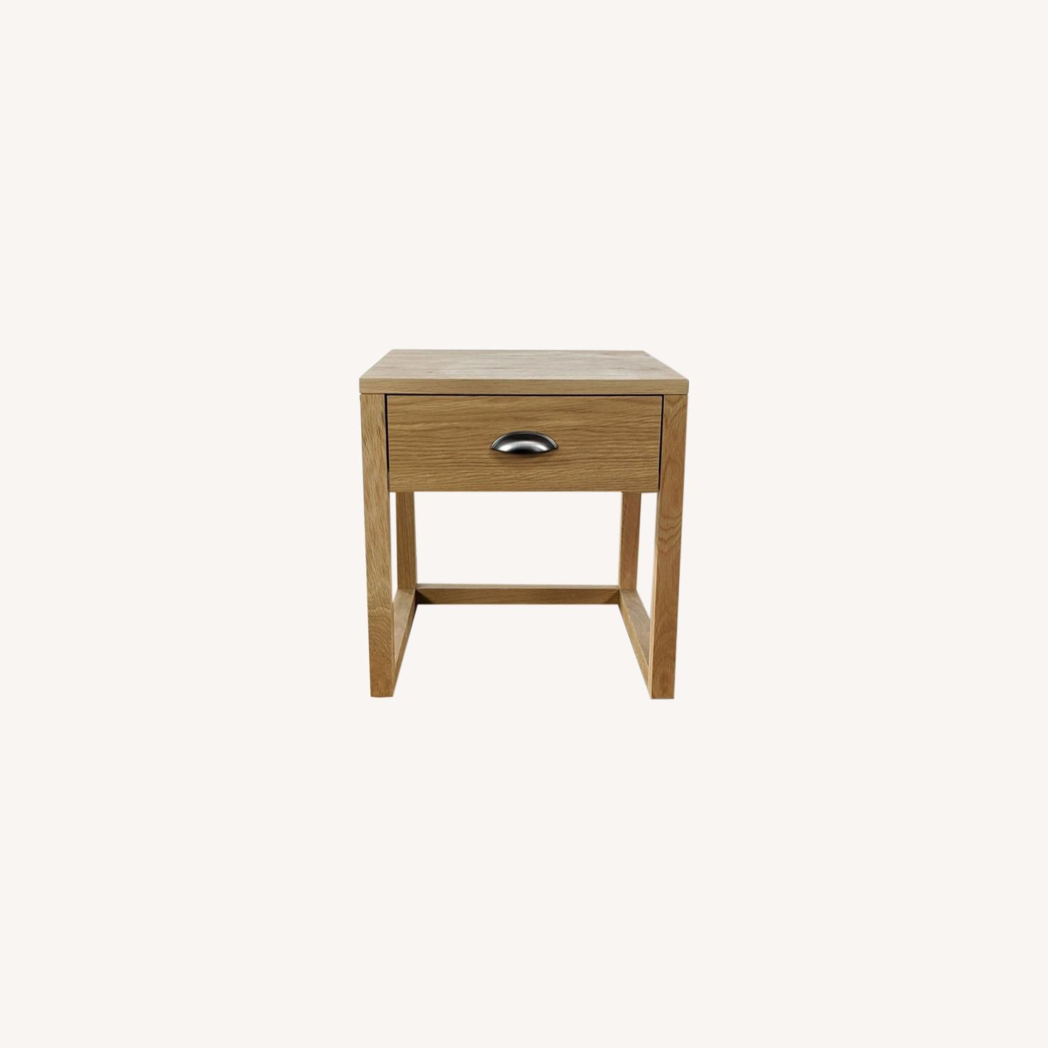 Pair of Yonga Bedside Tables in Natural Oak - image-0