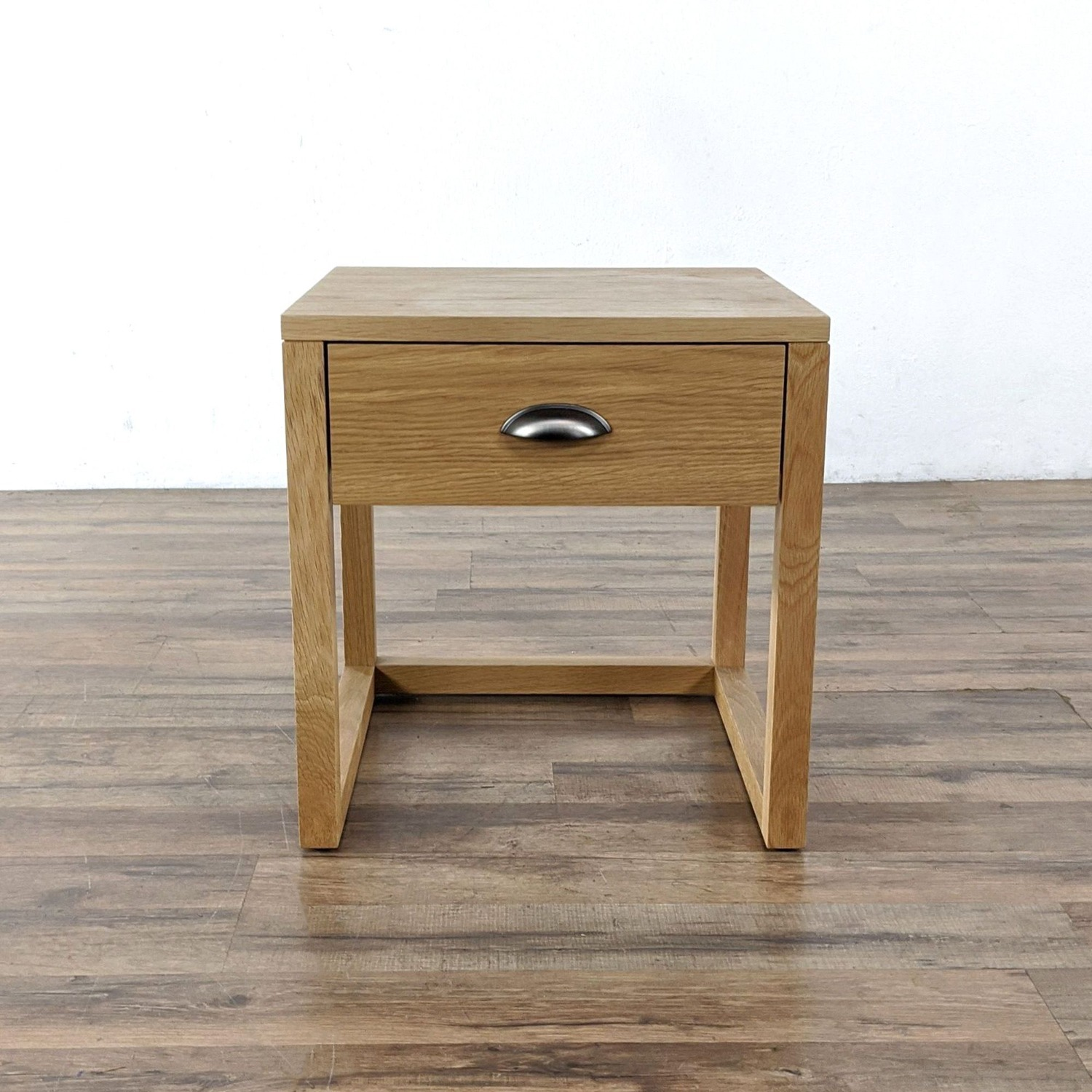 Pair of Yonga Bedside Tables in Natural Oak - image-3