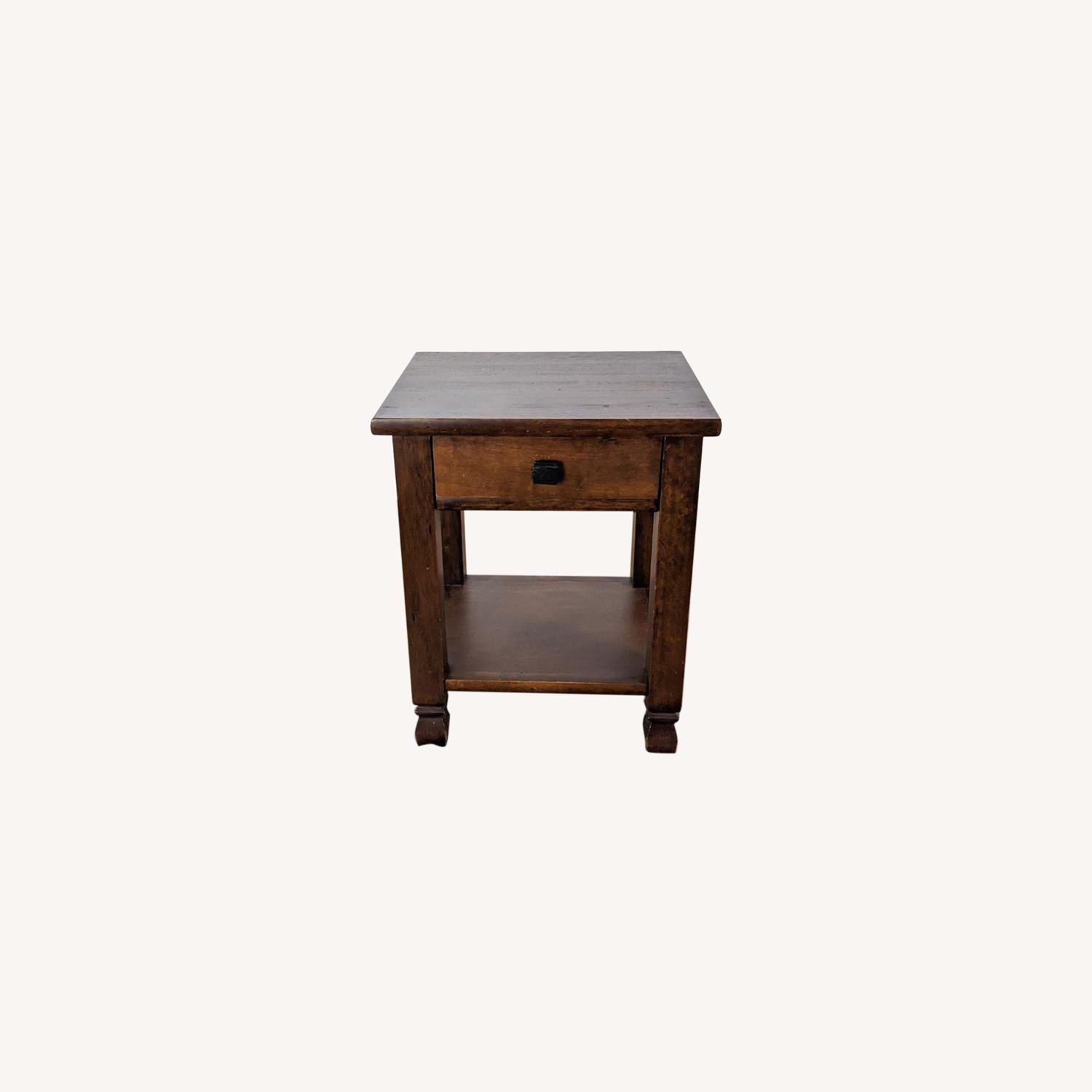 Pair of Pottery Barn Nightstands - image-0