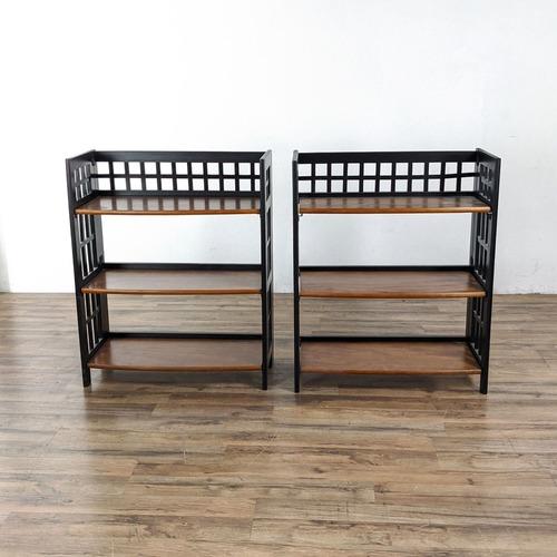 Used Pier 1 Imports Folding Bookcase for sale on AptDeco