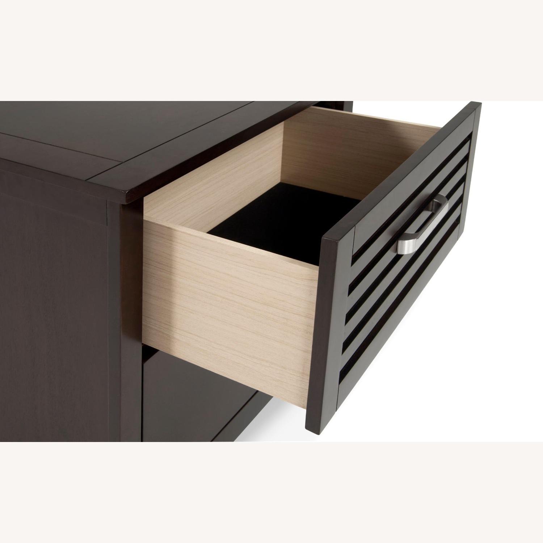 Bob's Discount Furniture Dark Wood Nightstand - image-2