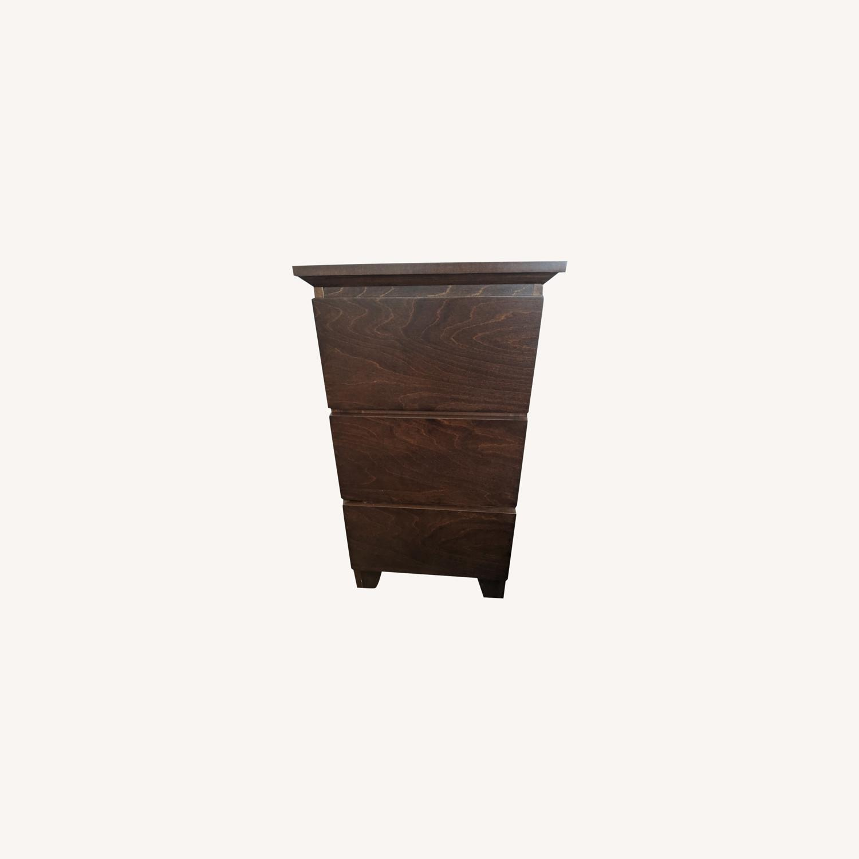 Gothic Cabinet Craft Mid Century Nightstands - image-0
