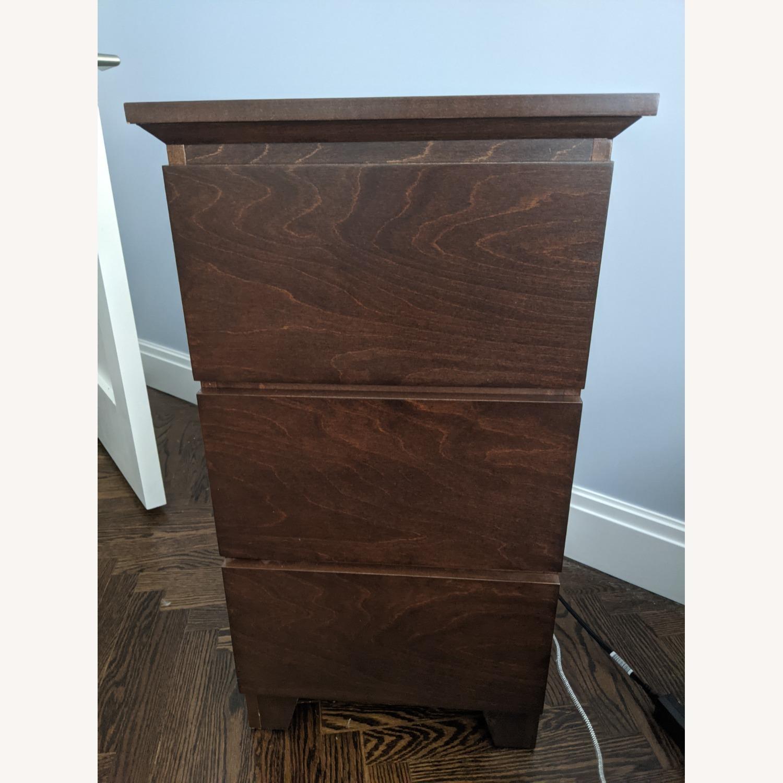 Gothic Cabinet Craft Mid Century Nightstands - image-2