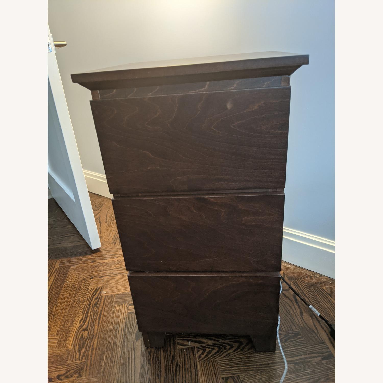 Gothic Cabinet Craft Mid Century Nightstands - image-1