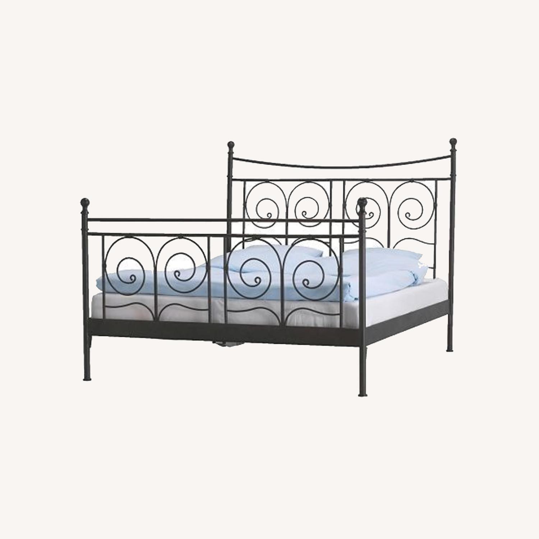 IKEA Noresund Full Size Bed Frame - image-0