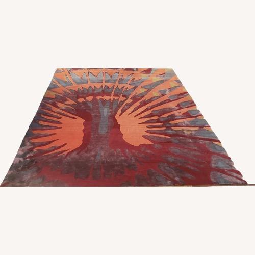 Used ABC Carpet - Silk + Wool Rug - 8x10 for sale on AptDeco