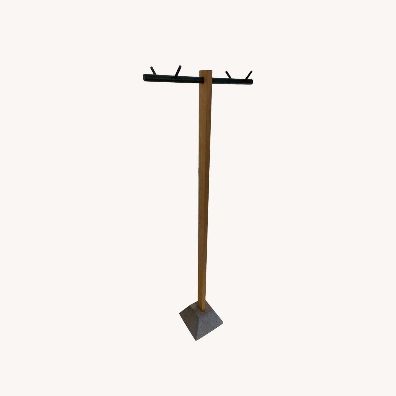 CB2 Standing Hanging Rack - image-0