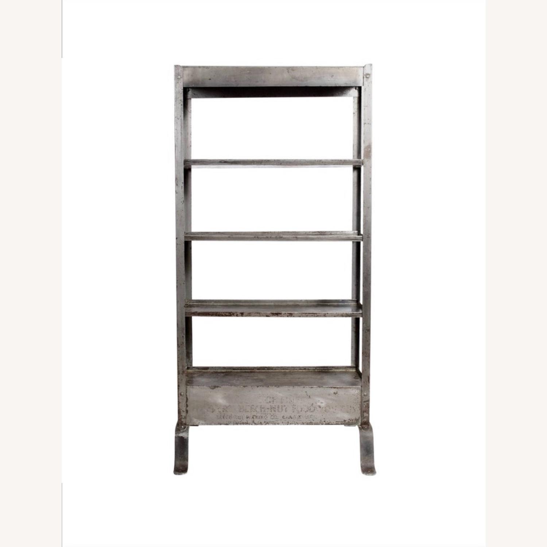 Vintage Industrial Shelves/Room Divider - image-3