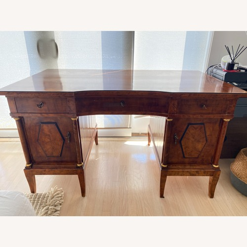 Used Antique Biedermeier Desk with Drawer Storage for sale on AptDeco