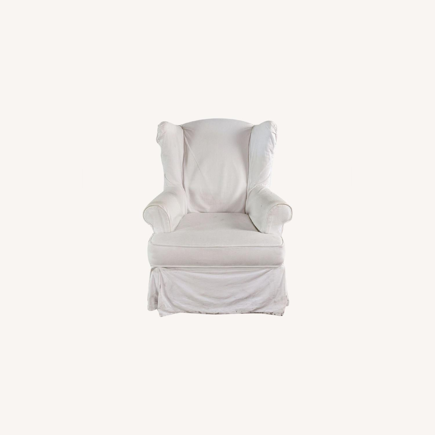 Pottery Barn Glider with Slip Cover - image-0