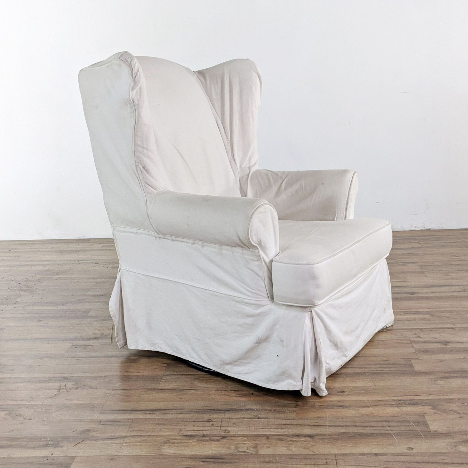 Pottery Barn Glider with Slip Cover - image-2