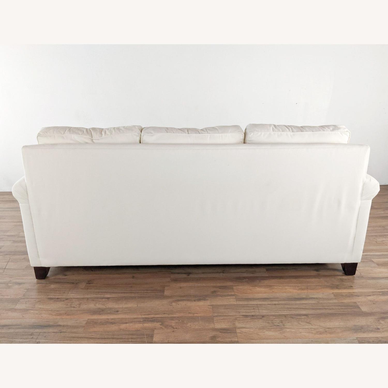 Pottery Barn White Upholstered Sectional Sofa - image-3
