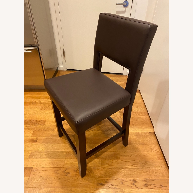 Linon 24 Modern Barstool Counter height - image-1