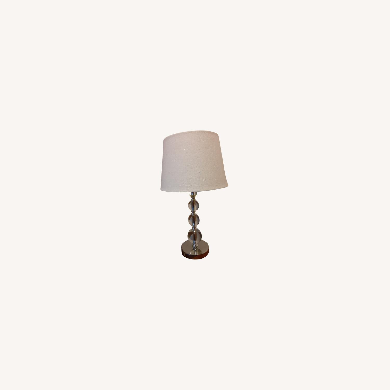 Target: Luxury Glam Lamp- Glass - image-0