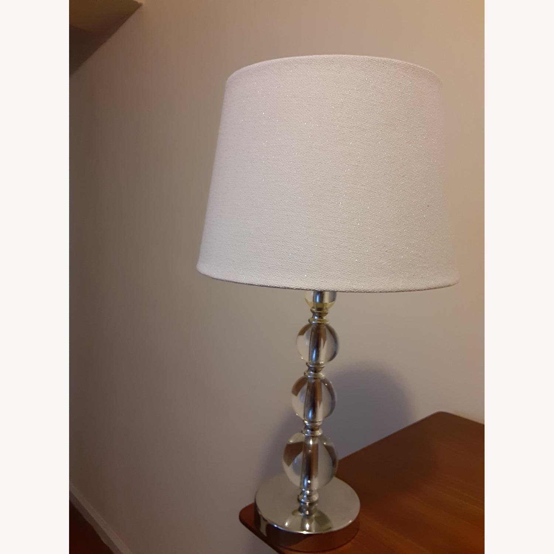 Target: Luxury Glam Lamp- Glass - image-1