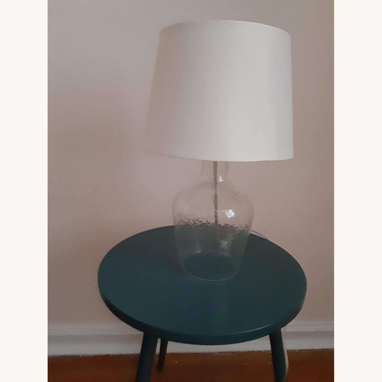 Target Artisan Glass Jug Large Lamp Base: Clear - image-2