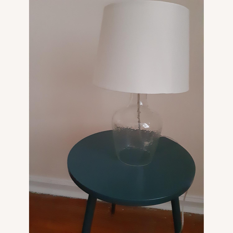 Target Artisan Glass Jug Large Lamp Base: Clear - image-3