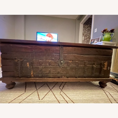 Used Crate & Barrel Chest-Style Coffee Table for sale on AptDeco