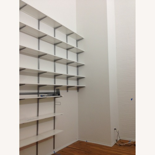 Used Container Store Elfa Storage System for sale on AptDeco