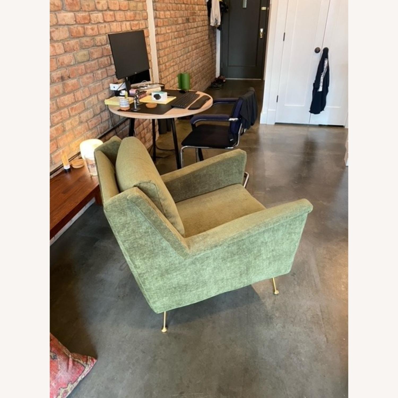 West Elm Carlo Mid Century Chair - image-2