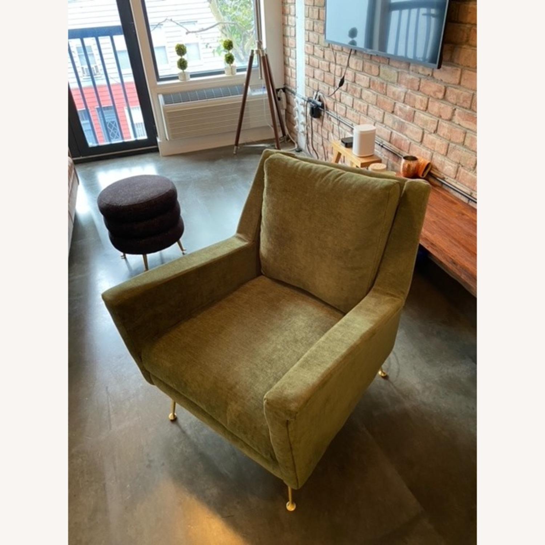 West Elm Carlo Mid Century Chair - image-1