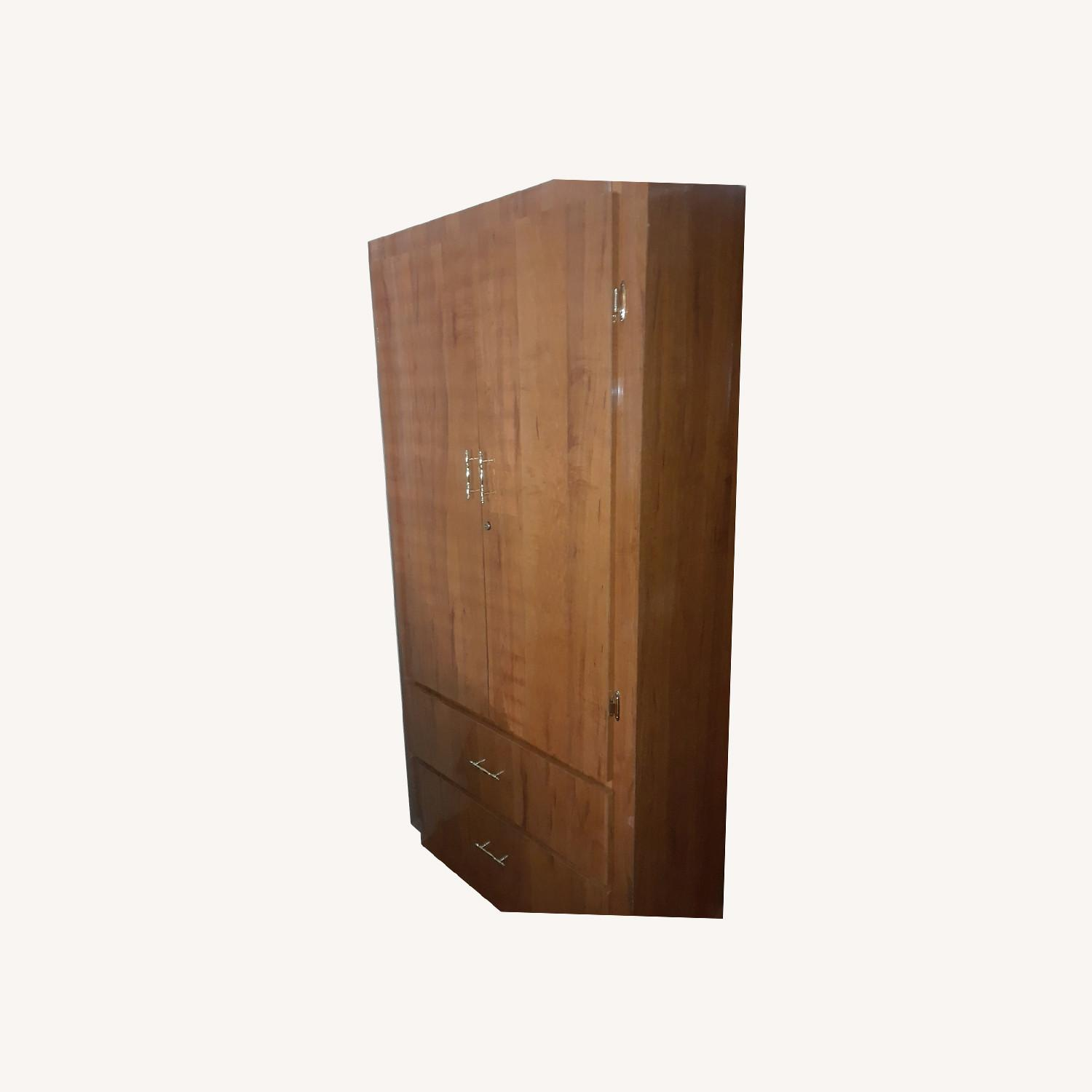 Armoire / Wardrobe with 2 Drawers - image-0