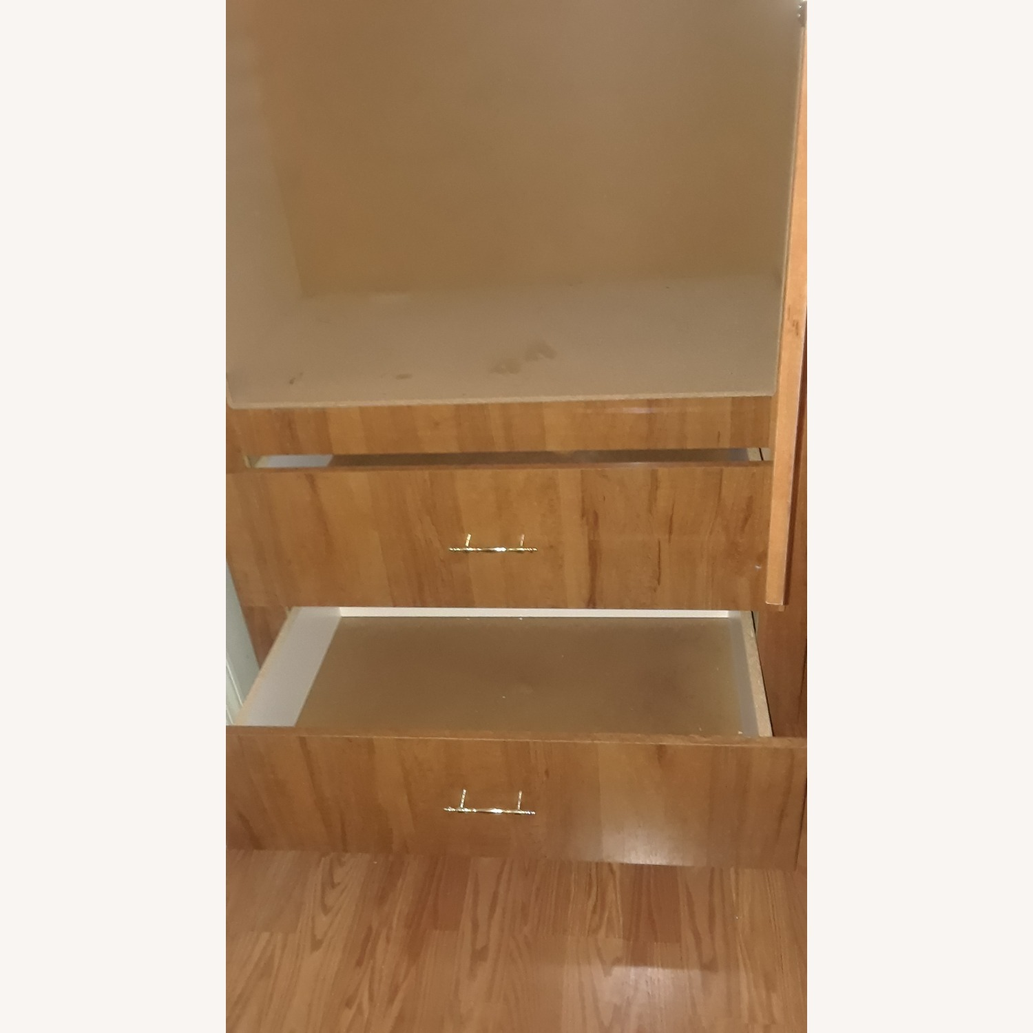 Armoire / Wardrobe with 2 Drawers - image-2