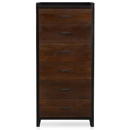 Used Crate & Barrel Forsyth 6-Drawer Tall Chest for sale on AptDeco
