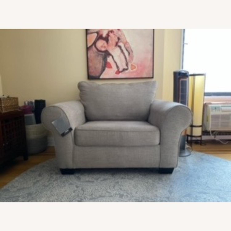 Ashley Belcamp Oversized Chair - image-3