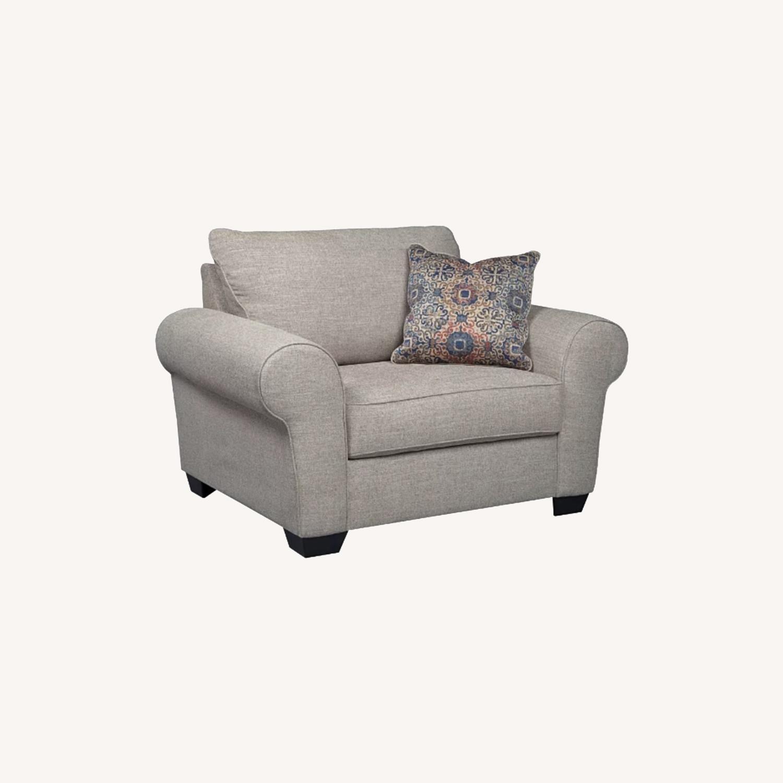 Ashley Belcamp Oversized Chair - image-0