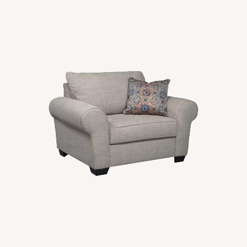 Used Ashley Belcamp Oversized Chair for sale on AptDeco