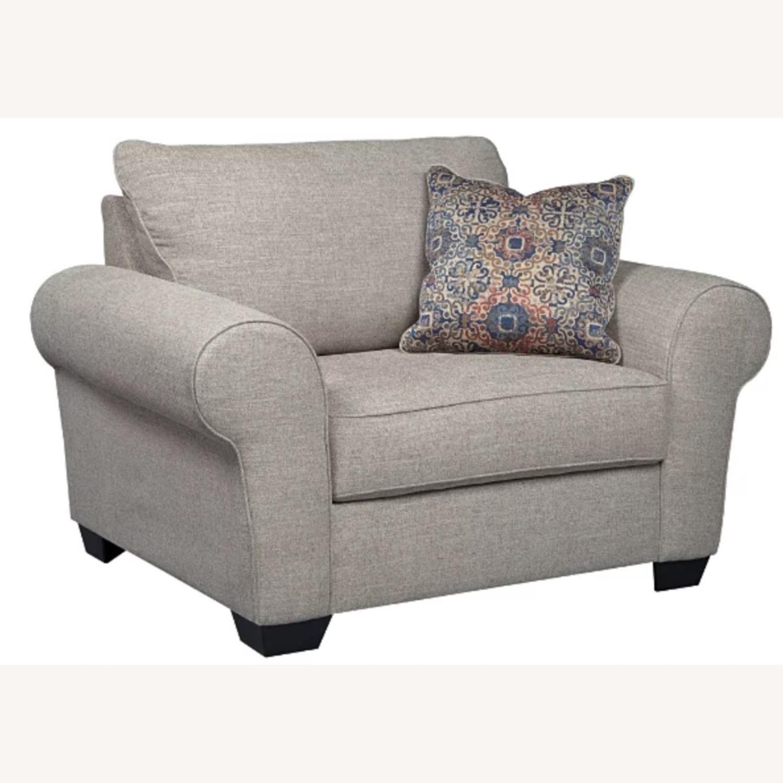 Ashley Belcamp Oversized Chair - image-1