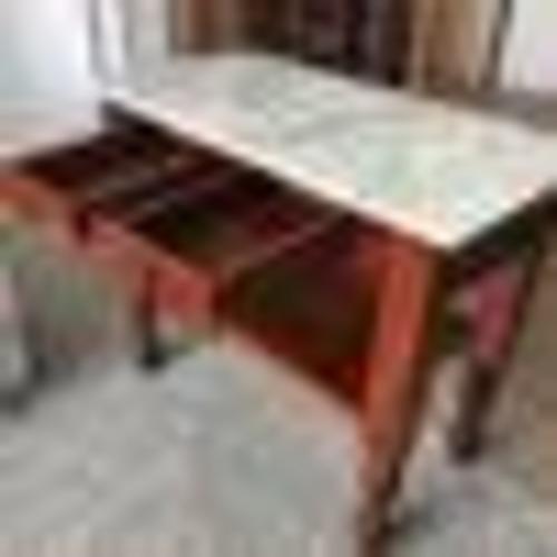 Used Wood/Marble Sideboard for sale on AptDeco