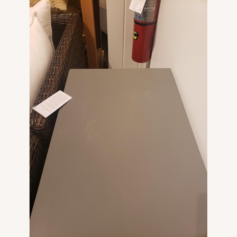 Pottery Barn Sloan Concrete Console Table - image-2