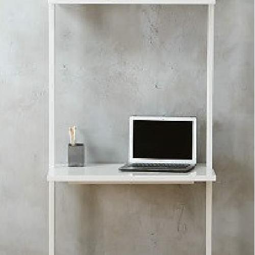 Used CB2 Stairway White Desk for sale on AptDeco