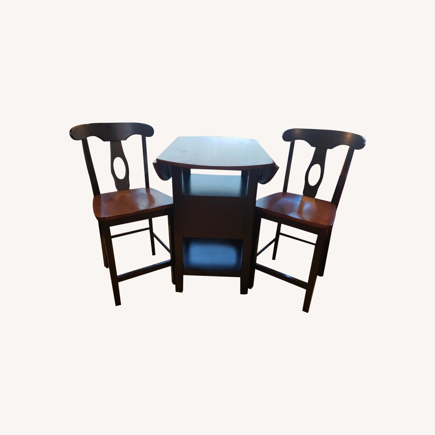 Bistro Dining Set with Drop Leaves - image-0