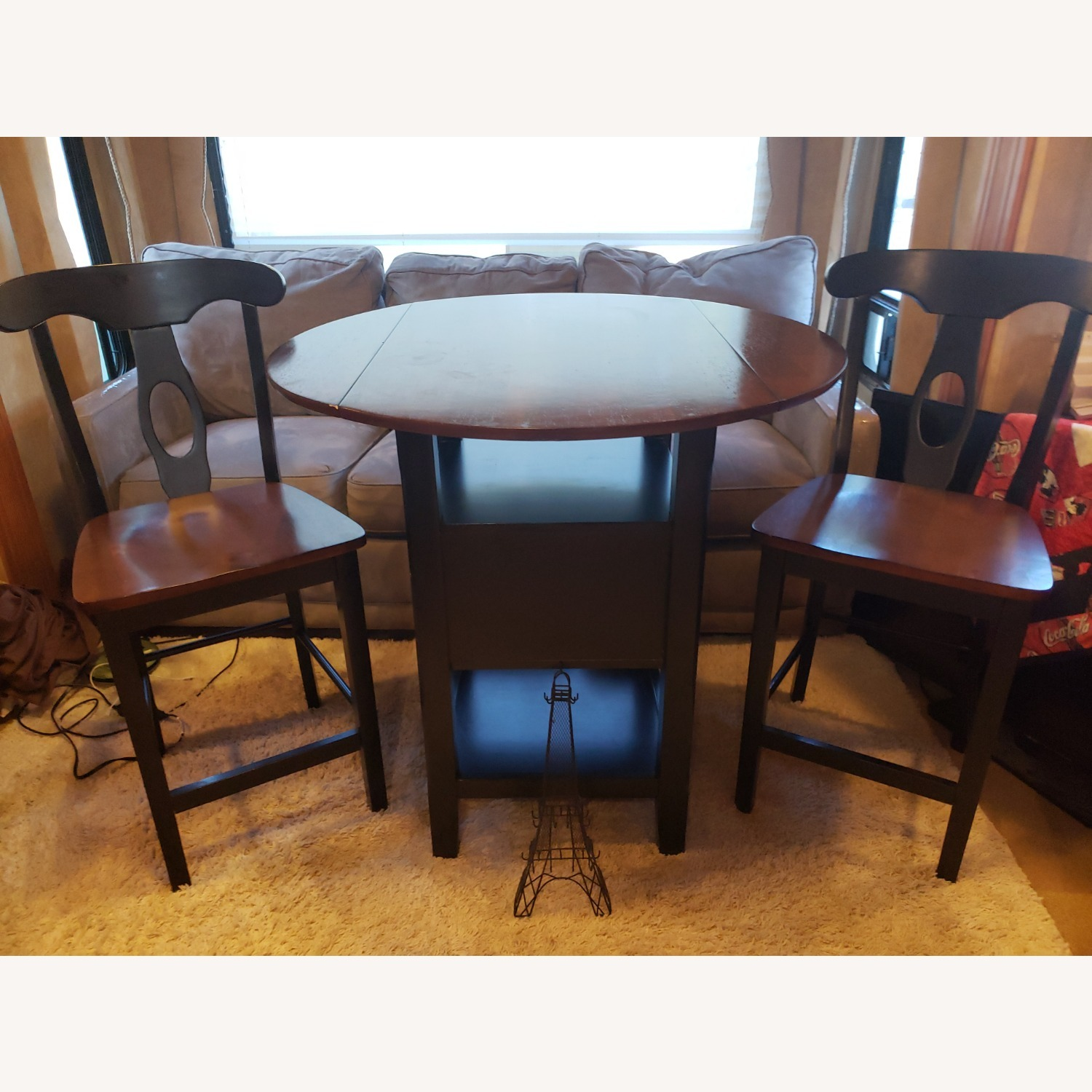 Bistro Dining Set with Drop Leaves - image-1