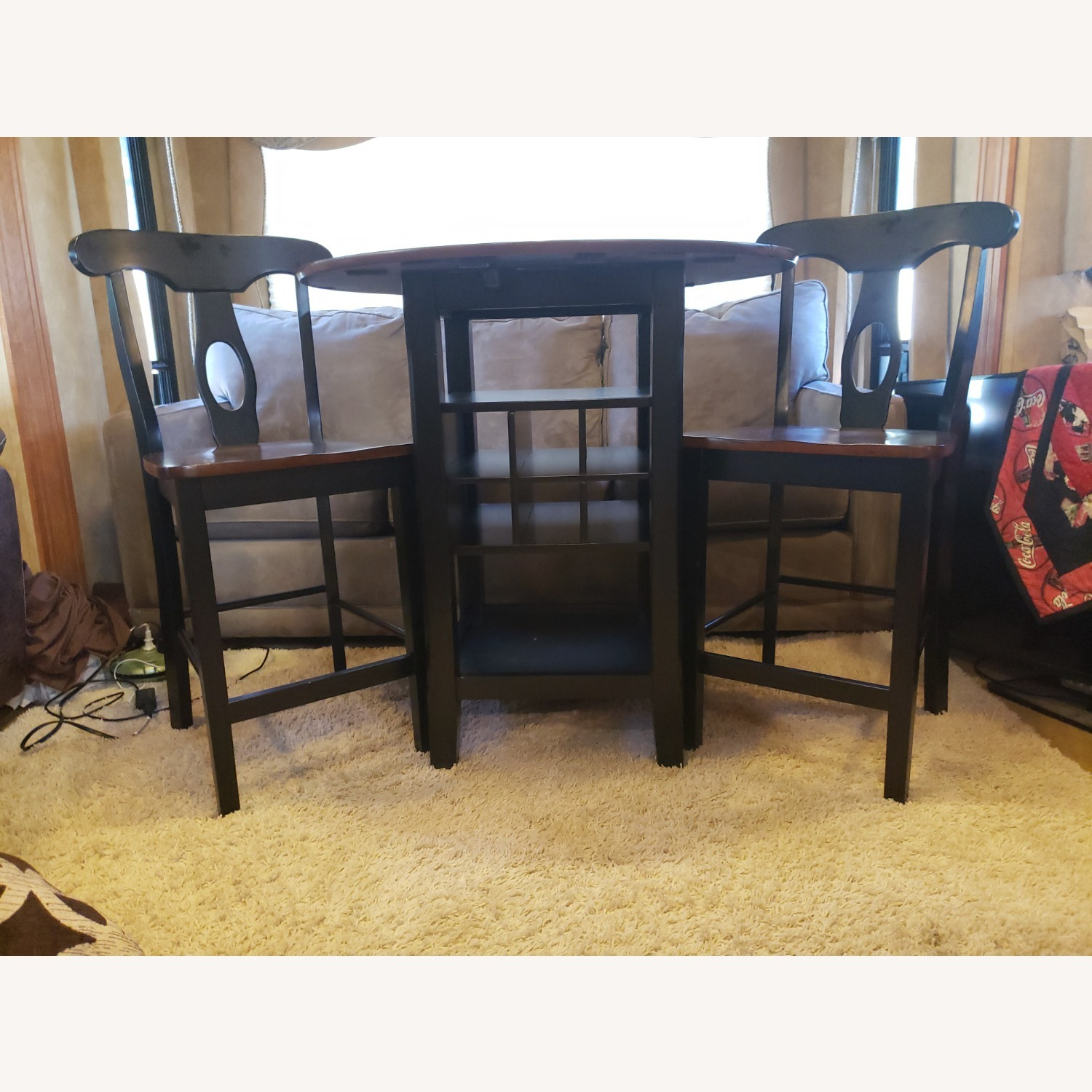 Bistro Dining Set with Drop Leaves - image-2