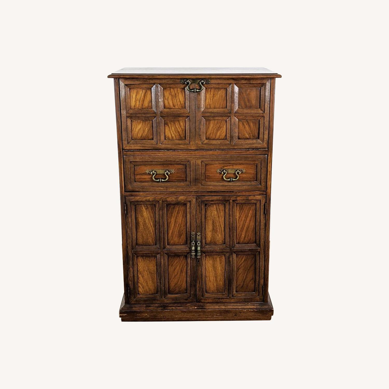 Vintage Lane Bar Cabinet - image-0