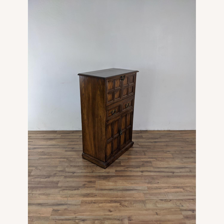 Vintage Lane Bar Cabinet - image-1