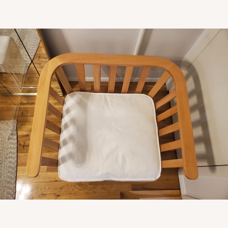 Zara Home Modern White Accent Chair - image-3